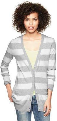 Gap Eversoft wide-stripe skinny cardigan