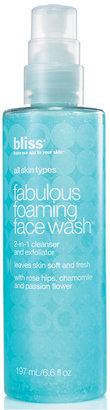 Bliss Fabulous Foaming Face Wash, 6.6 oz. $24 thestylecure.com