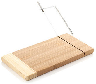Bamboo Cheese Board w/ Wire Cutter