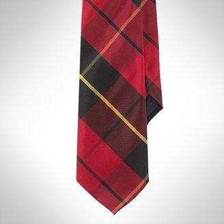 Silk Twill Tartan Tie