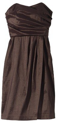 TEVOLIOTM Women's Shantung Strapless Dress - Limited Availability Colors