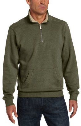 G.H. Bass Men's Fleece Pullover with Pocket