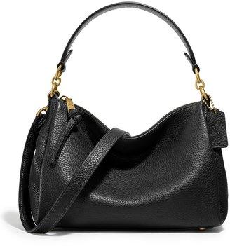 Coach Shay Black Leather Cross-body Bag