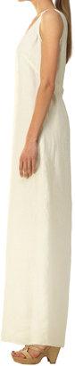 Max Studio Hankie Linen Maxi Dress