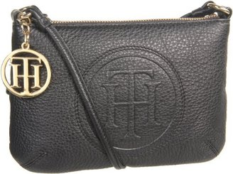 Tommy Hilfiger Trapunto Logo Convertible Cross Body