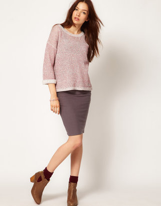 People Tree Jersey Pencil Skirt
