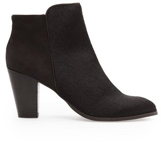MANGO Outlet Combi Leather Ankle Boots