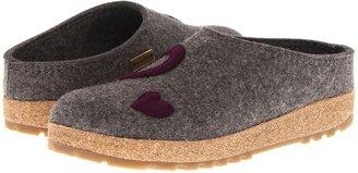 Haflinger Hearts (Grey) - Footwear