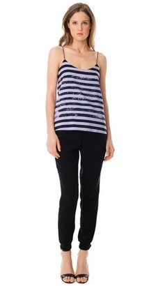 Tibi Distressed Stripe Cami