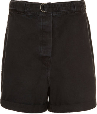 J.W.Anderson **Belted Denim Shorts By For Topshop