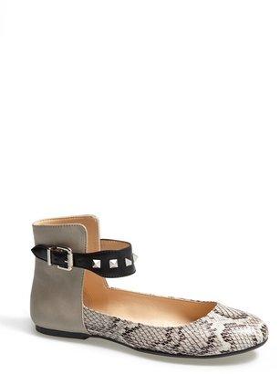 Jessica Simpson 'Munney' Studded Ankle Strap Flat