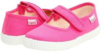 Cienta 5600012 (Infant/Toddler/Little Kid/Big Kid) (Fuchsia) Girls Shoes