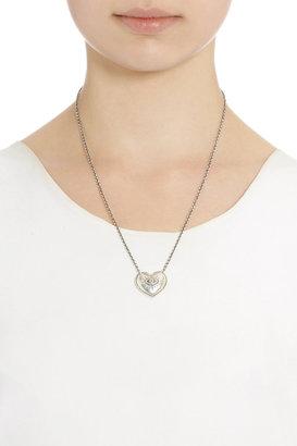 Pamela Love Silver and Sapphire Aeternum Pendant