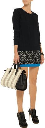 LnA Cedros cutout fine-knit sweater