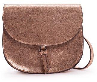 MANGO Flap messenger bag