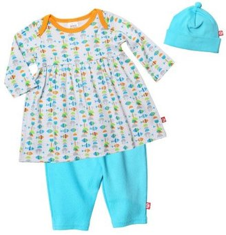 Zutano Baby-Girls Fishes Dress, Hat a...