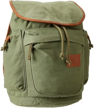 Volcom Daydreamin Canvas Backpack (Olive) - Bags and Luggage
