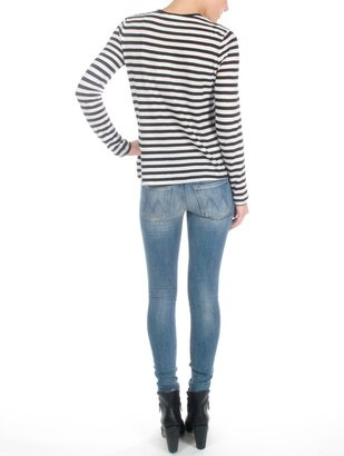 Mother Whole Lotta Trouble Looker Skinny Jean