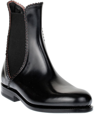 Alaia Leather Chelsea boot