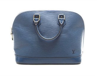 Louis Vuitton Pre-owned Blue Epi Leather Alma Bag