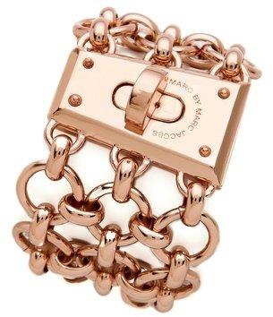 Marc by Marc Jacobs Mega Mesh Faceted Lock Bracelet