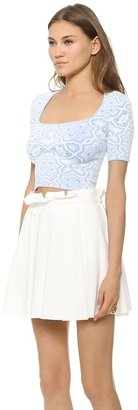 Torn By Ronny Kobo Yogi Crop Top