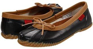 Chooka Solid Duck Skimmer (Black) Women's Slip on Shoes