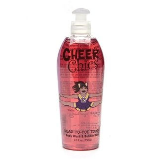 Cheer Chics Head-to-Toe Touch Body Wash & Bubble Bath