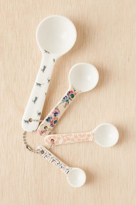 Urban Outfitters Plum & Bow Patterned Measuring Spoons Set