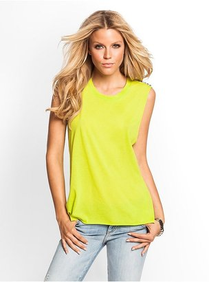 GUESS Studded Relaxed Tank