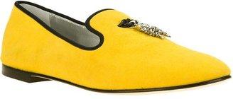 Giuseppe Zanotti Design fish tassel slippers