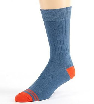 JCPenney PACT Denim Solid Crew Socks