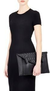 Reece Hudson Bowery Oversized Clutch-Colorless