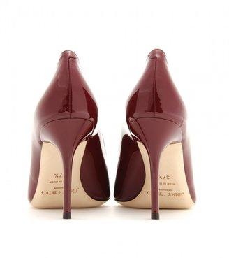 Jimmy Choo Agnes patent leather pumps
