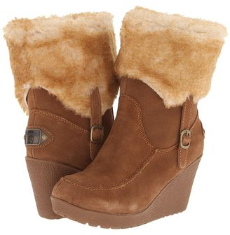 BearPaw Flatbush (Hickory/Tipped Superwash) - Footwear