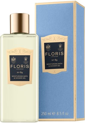 Floris No.89 Moisturising Bath & Shower Gel, 250ml