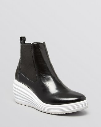 Jeffrey Campbell Platform Wedge Sneakers - Derica