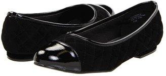 Annie Plaza (Black Velvet Suede) - Footwear