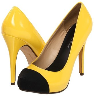 Michael Antonio Louie Patent (Yellow/Black) - Footwear