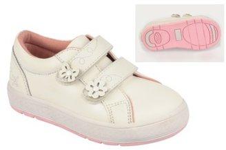 Buster Brown Toddler Girl's Shoe - White