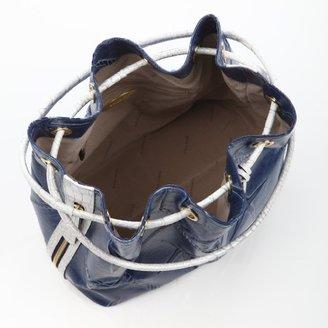 Brahmin Trina Shoulder Bag Pecan Raffia Vineyard