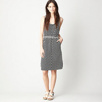 Steven Alan WHIT knit stripe sedona dress