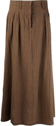 Labo Art crinkled maxi skirt
