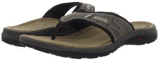 Ecco Sport - Costa Waikki Sandal (Warm Grey/Licorice/Antelope Yak) - Footwear