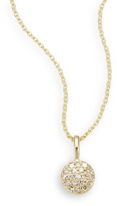Saks Fifth Avenue Diamond & 14K Yellow Gold Necklace