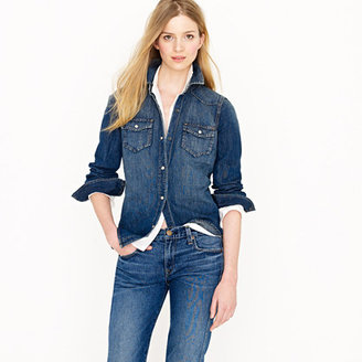 J.Crew Denim western shirt