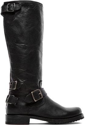Frye Veronica Moto Back Zip Boot