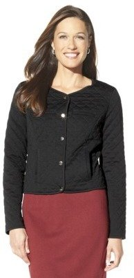 Merona Women's Quilted Bomber Jacket - Assorted Colors