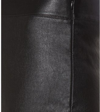 Jil Sander Navy Leather trousers
