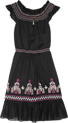 ALICE by Temperley Marala embroidered cotton dress